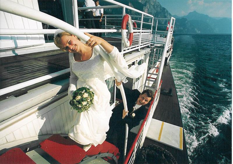 Hochzeit Osterreich Hochzeitsfeier Schiff Traunseeschifffahrt Eder